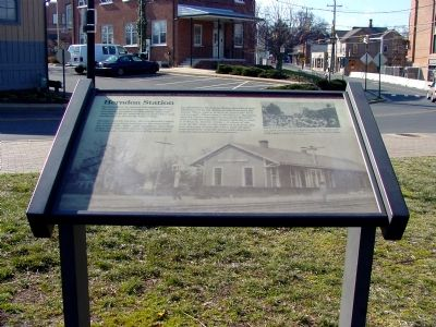 Herndon Station Marker image. Click for full size.