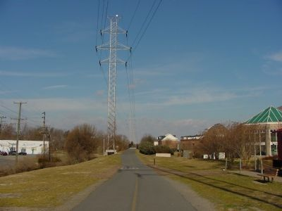 Looking West on the W&OD Right Of Way image. Click for full size.