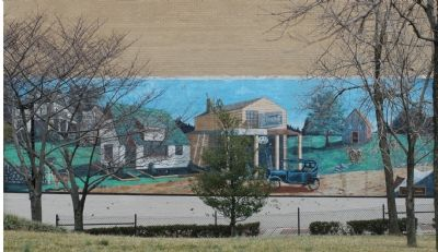 The Spirit of Wheaton Mural image. Click for full size.