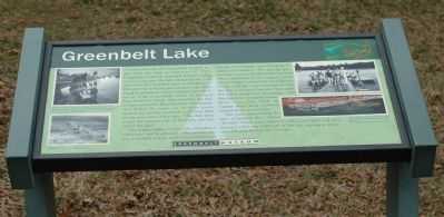Greenbelt Lake Marker image. Click for full size.