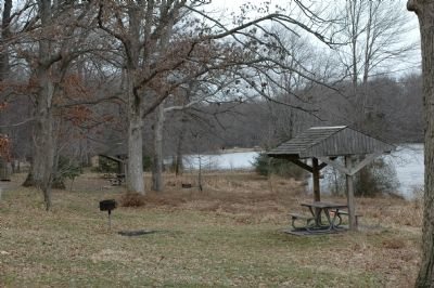 Winter at Buddy Attick Park and Greenbelt Lake image. Click for full size.