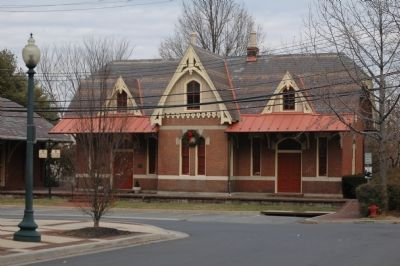 B&O Railroad Station image. Click for full size.