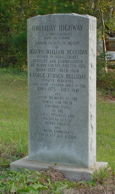 Holliday Highway Marker image. Click for full size.