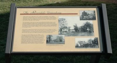 The Riversdale Dependency Marker image. Click for full size.