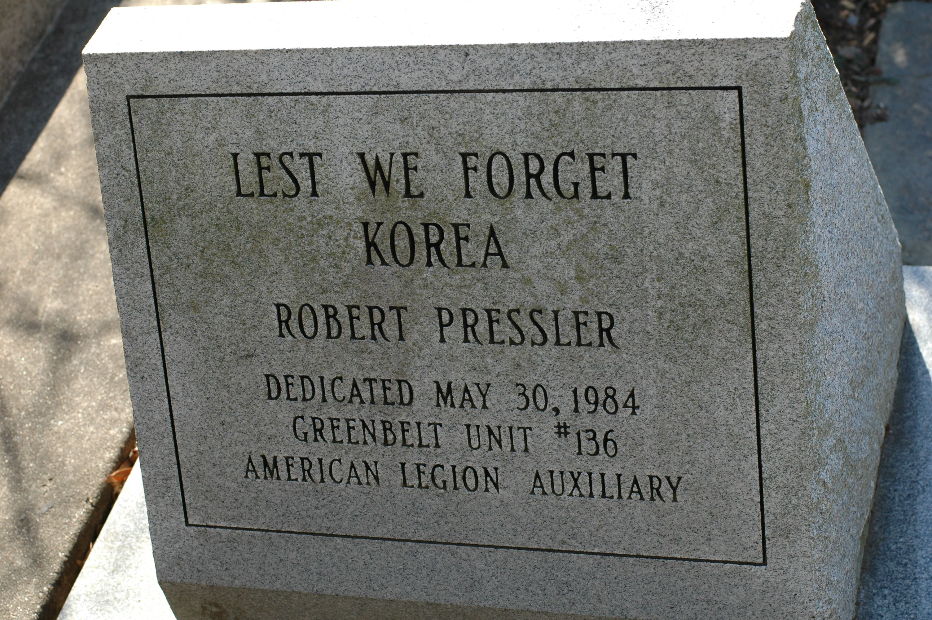 Lest We Forget Korea