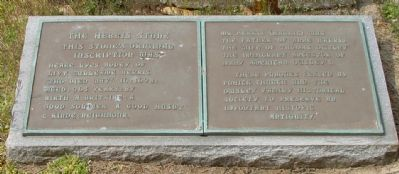 The Herris Stone Marker image. Click for full size.