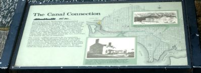 The Canal Connection Marker image. Click for full size.