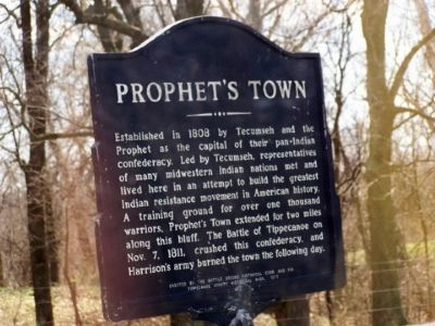 Prophet's Town Marker image. Click for full size.