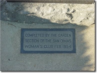 At the Base of the Birthplace Marker image. Click for full size.