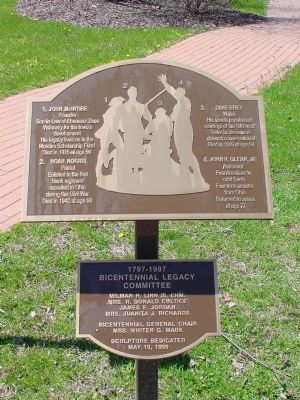 The Bicentennial Legacy Monument Marker image. Click for full size.