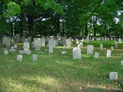 Danbury Mission Cemetery image. Click for full size.