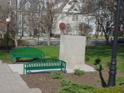 Beta Theta Pi Plaza image. Click for full size.