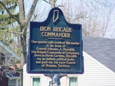 Iron Brigade Commander Marker image. Click for full size.