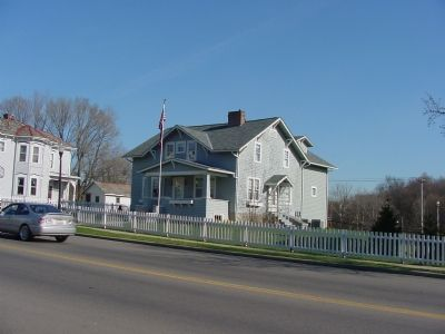 John Glenn Jr. Boyhood Home image. Click for full size.