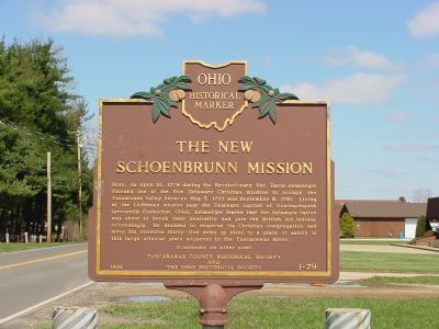 The New Schoenbrunn Mission Marker image. Click for full size.