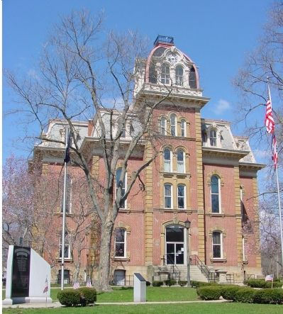 The Coshocton County Courthouse image. Click for full size.