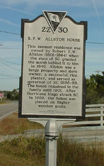 Allston House Marker image. Click for full size.