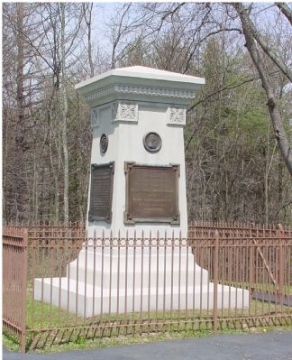 Braddock's Grave Monument image. Click for full size.