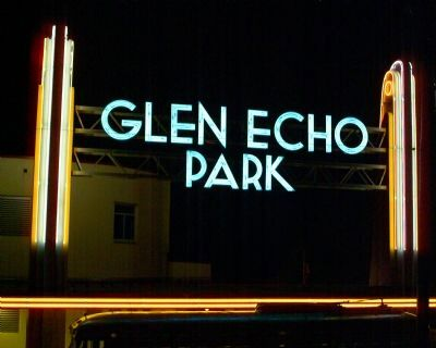 Main Entrance to Glen Echo Park image. Click for full size.