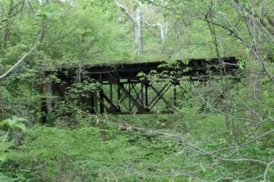 Trolley Trestle Over Discovery Creek image. Click for full size.