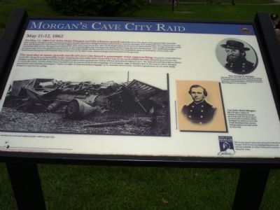 Morgan's Cave City Raid Marker image. Click for full size.