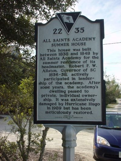 All Saints Academy Summer House Marker image. Click for full size.