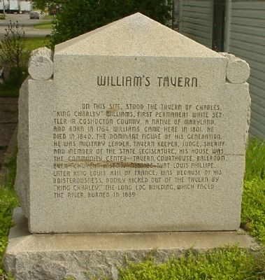 William's Tavern Marker image. Click for full size.