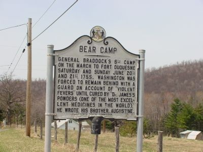 Bear Camp Marker image. Click for full size.