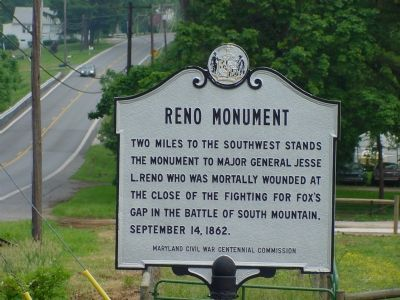 Reno Monument Marker image. Click for full size.