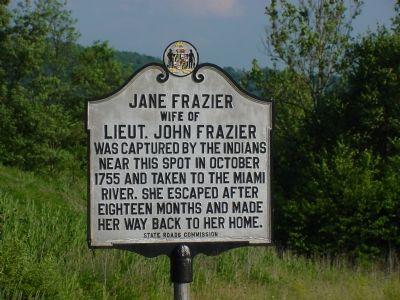 Jane Frazier Marker image. Click for full size.