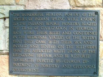 Indian Spring Marker image. Click for full size.