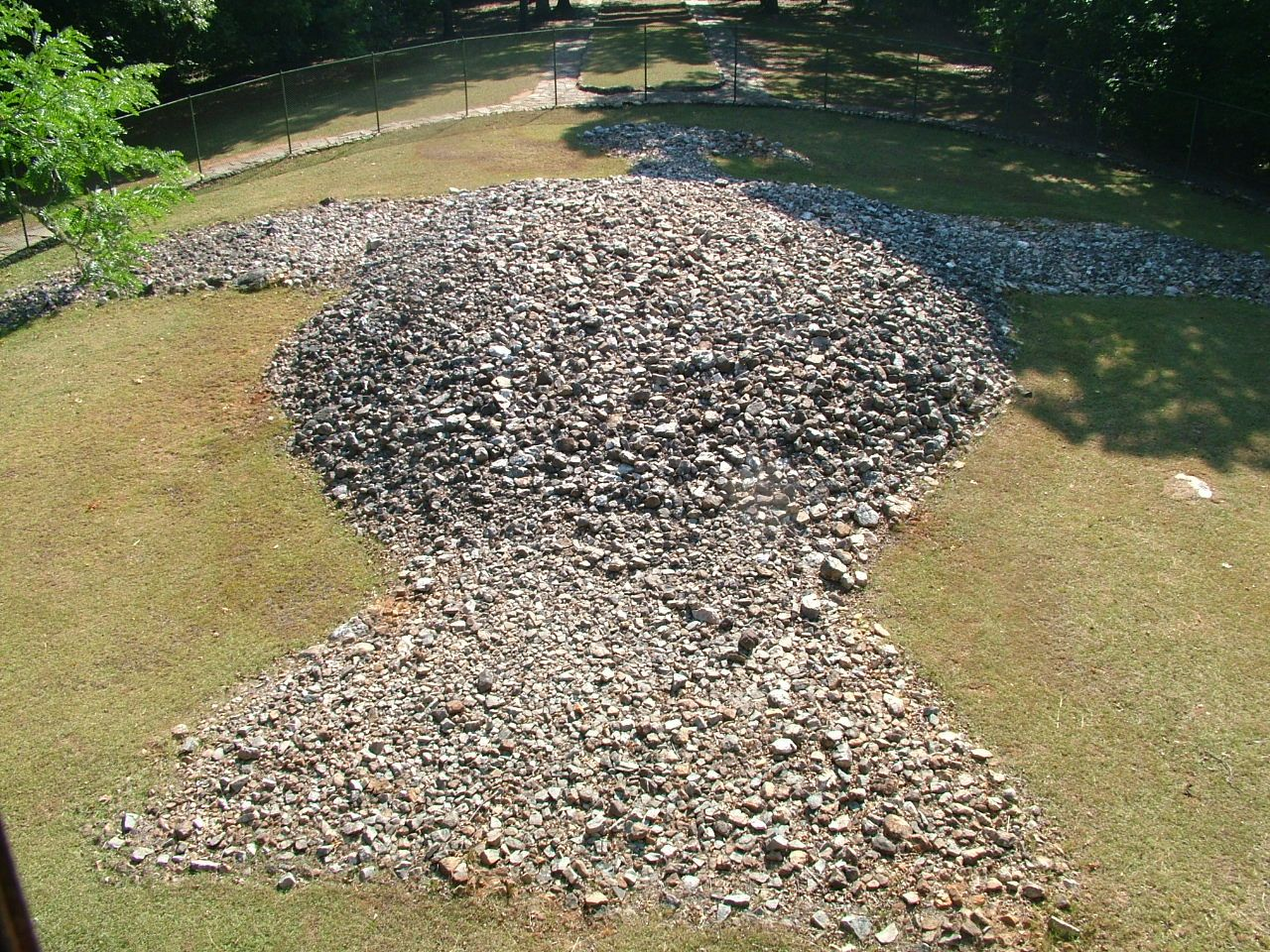 Rock Eagle Mound