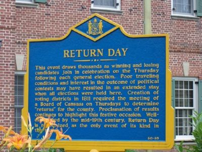Return Day Marker image. Click for full size.
