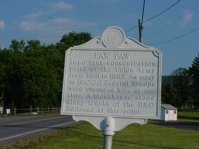 Paw Paw Marker image. Click for full size.