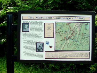 The Maryland Campaign of 1862 Marker image. Click for full size.