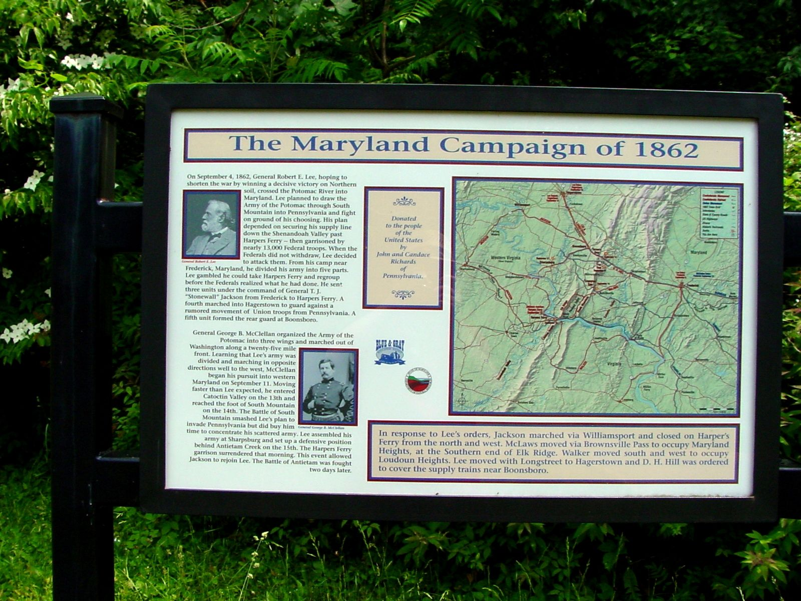 The Maryland Campaign of 1862 Marker