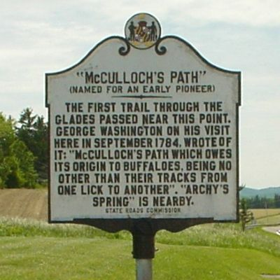 McCulloch's Path Marker image. Click for full size.