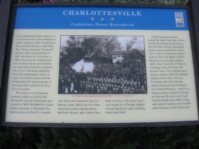 Confederate Heroes Remembered Marker image. Click for full size.