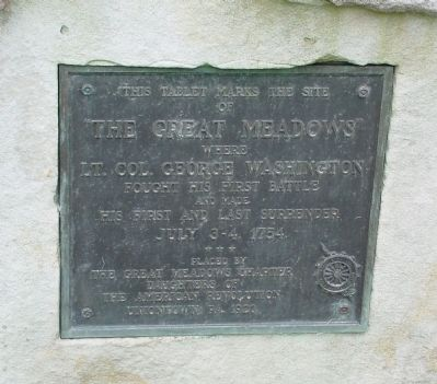 The Great Meadows Marker image. Click for full size.