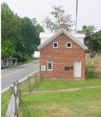 Old Bank Road Toll House image. Click for full size.