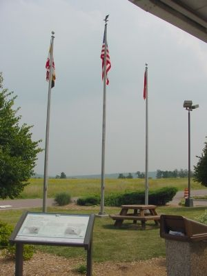 Southeast View of Marker image. Click for full size.