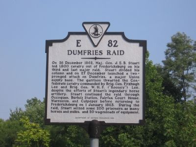 Dumfries Raid Marker image. Click for full size.