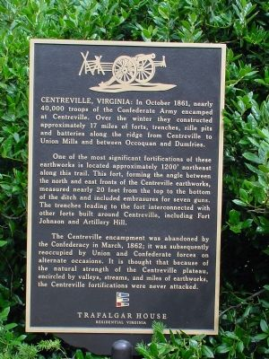 Centreville, Virginia Marker image. Click for full size.
