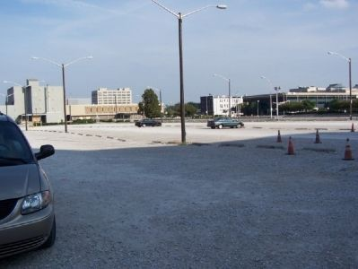 Market Square Arena was imploded. There is a parking lot in its place now. image. Click for full size.