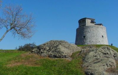 The Carleton Martello Tower image. Click for full size.
