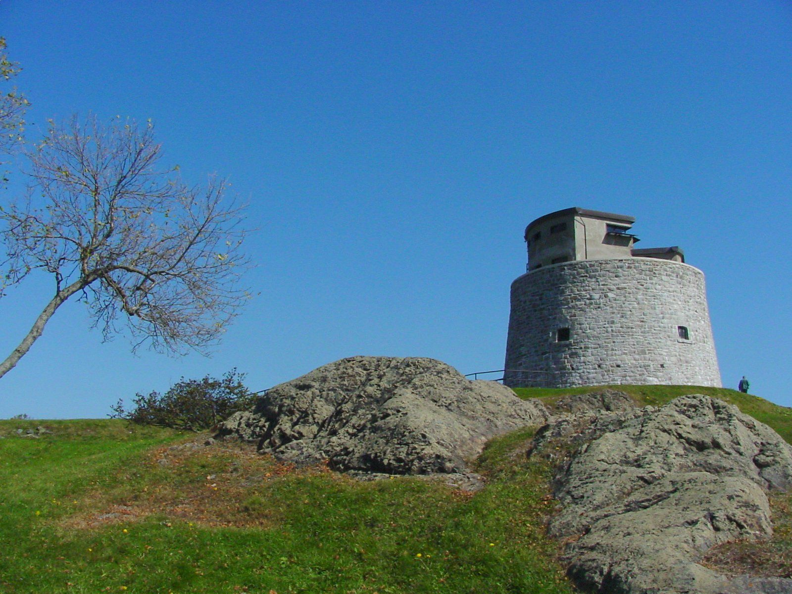 The Carleton Martello Tower