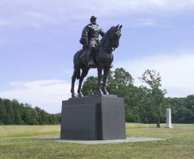 The General Bee Monument Can Be Seen in the Distance image. Click for full size.