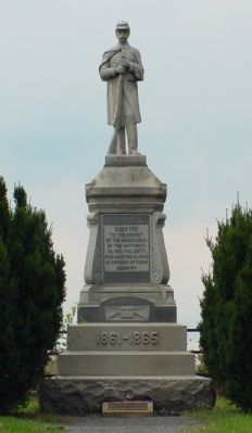 54th Pennsylvania Monument image. Click for full size.