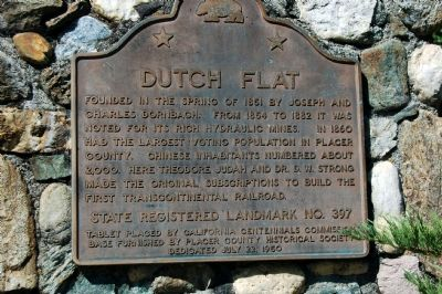 Dutch Flat Marker image. Click for full size.