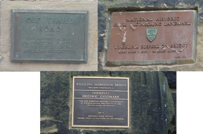 Plaques on Bridge Tower image. Click for full size.